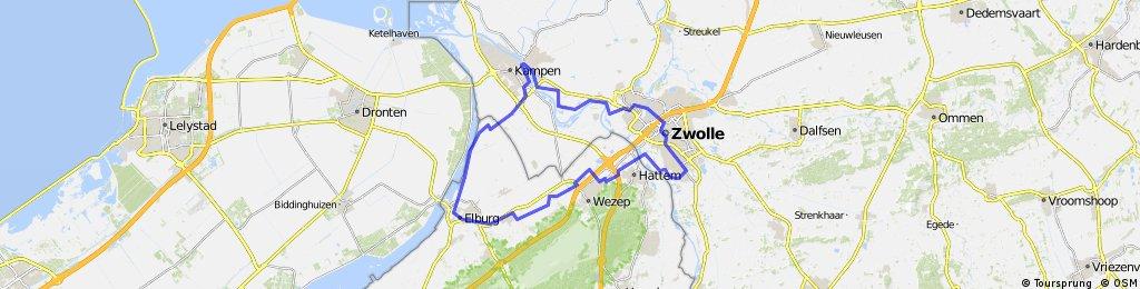 Zwolle-Elburg-Kampen-Zwolle