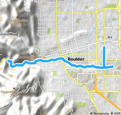 Boulder Creek To Boulder Canyon