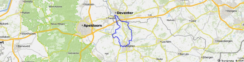 Ijssel-Runde Deventer-Zutphen