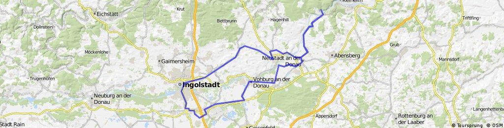 Ingolstadt - Kloster Weltenburg