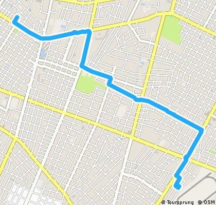 Brief bike tour through Asunción