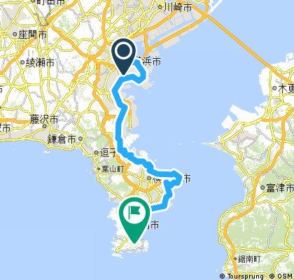 2015年8月15日 三浦海岸