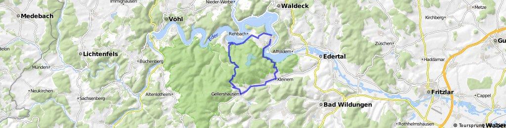 Nationalpark Kellerwald-Edersee, östliche Runde