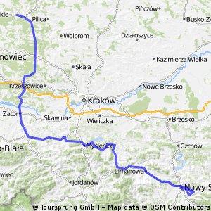 Tour de Pologne 2016 Stage 3: 240 km Zawiercie - Nowy Sacz