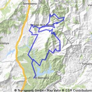 """Ruta Sierra 19: 120 Km 2177 m - """"Sierra Norte de Madrid"""""""