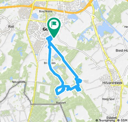 bike tour through Goirle