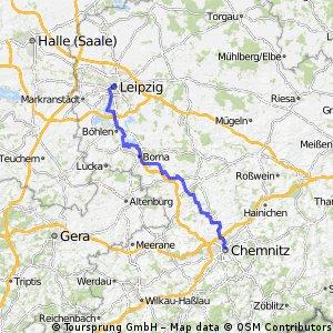 Chemnitz Leipzig HBF