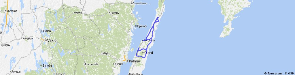 Team Rynkeby Kalmar - norra Öland - 160514