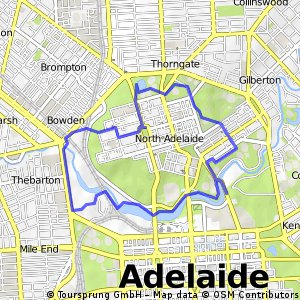 Cycling routes and bike maps in and around Adelaide Bikemap Your