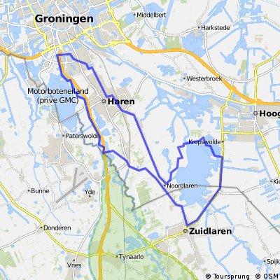 42 km Rondom Zuidlaardermeer