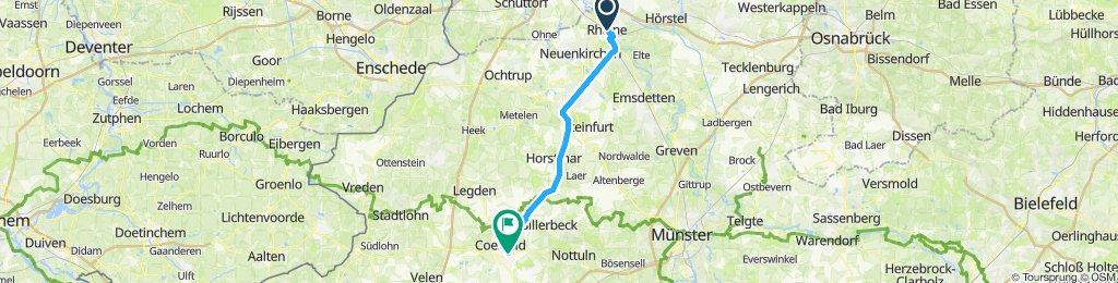 5c. Tag Rheine-Coesfeld 52 km Radbahn