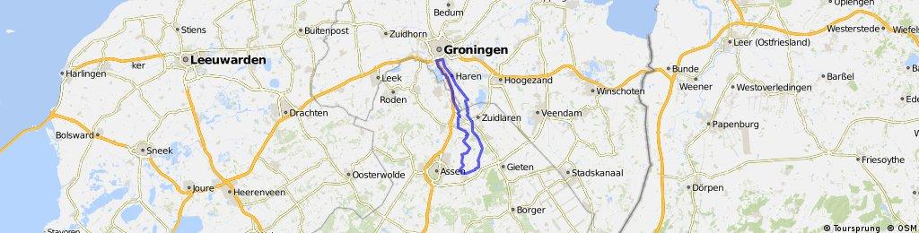 Groningen-Rolde-Groningen