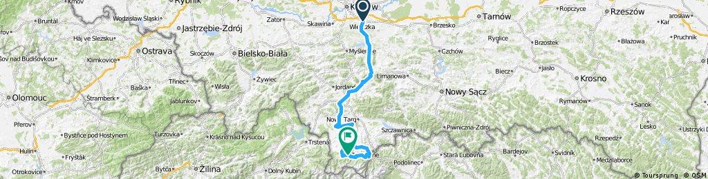 Tour de Pologne 2016 Stage 5: 225 km Wieliczka - Zakopane