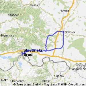 Slavonski Brod - Đakovo - Slavonski Brod