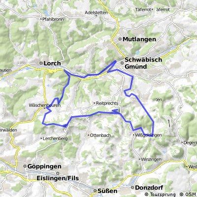 Radtouren in der Region: Tour eins – auf den Spuren des Schwäbische-Alb-Marathons