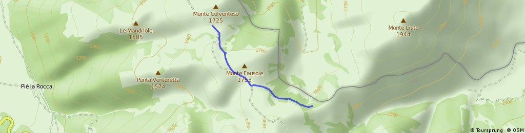 Zona A • Passo Rapegna