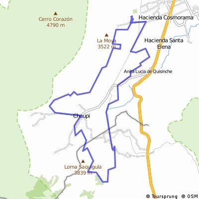 45K Movistar Tour Montaña Ilinizas 2016