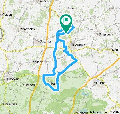 Route Holtwick-Reken