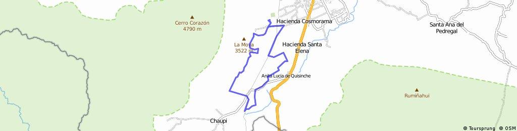 20K Movistar Tour Montaña Ilinizas 2016