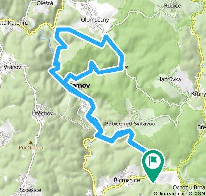 Long bike tour through Pastviny