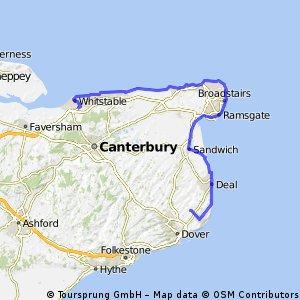 Dag 4 Whitstable - Dover