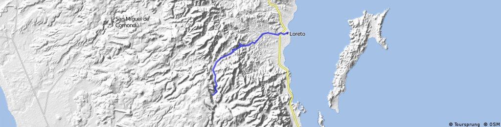 Loreto - San Javier - Loreto