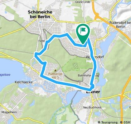 Radrunde durch Woltersdorf