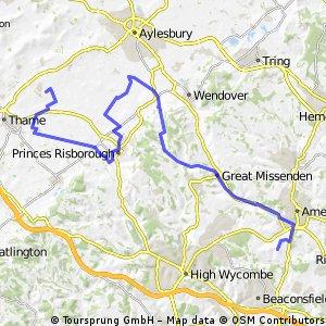 Coleshill to Haddenham  via Terick & Pheonix Trail