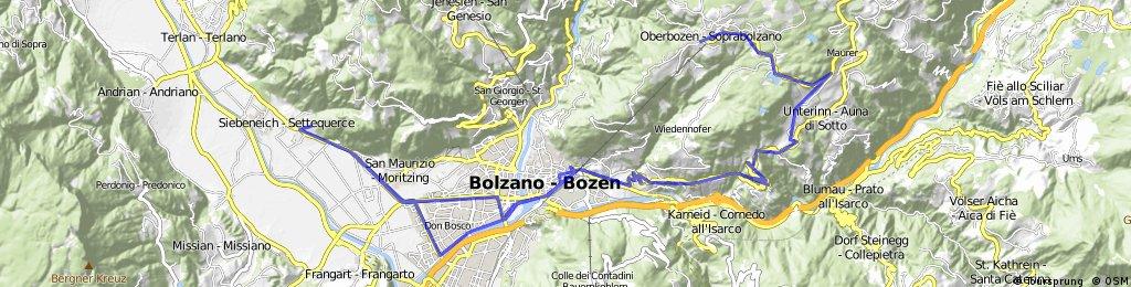 10.5.15 von Soprabolzano nach Bozen
