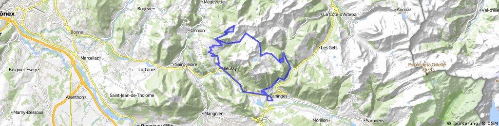 Col de la Ramaz and Col des Charmettes