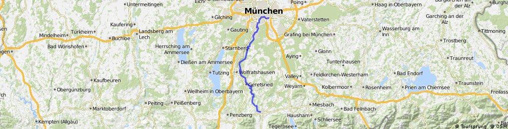 Isarradweg Karte.Isarradweg 4 Bad Tolz Munchen Bikemap Your Bike Routes