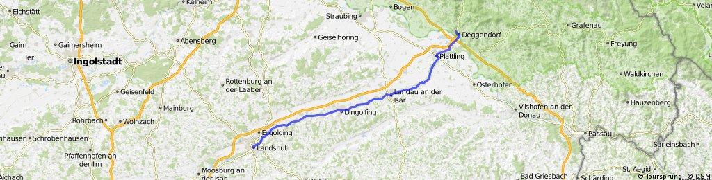 Isarradweg 6 Landshut Deggendorf