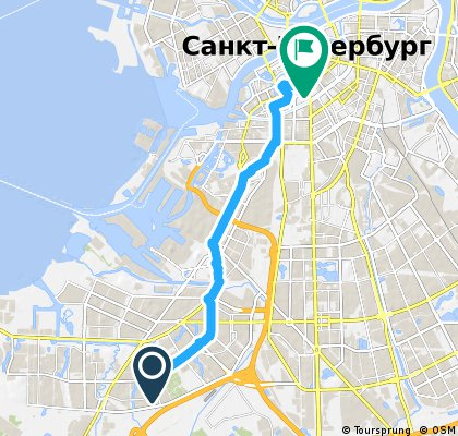 bike tour through St. Petersburg