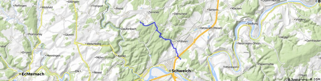 Pferdesegnung Schleidweiler