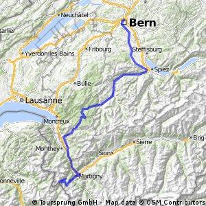 Tour de France 2016 Stage 17: 184 km Bern - Finhaut-Emosson