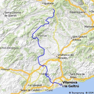 Igualada - Vilanova i la Geltru