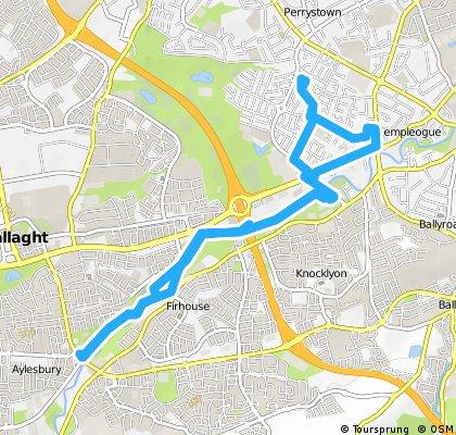 bike tour through Templeogue