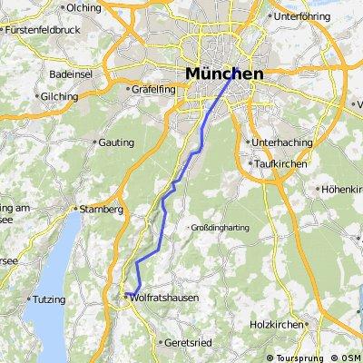 Wolfratshausen - Munich