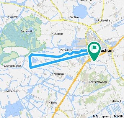 bike tour through Drachten