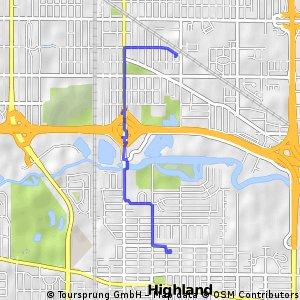 Short bike tour from Hammond to Highland
