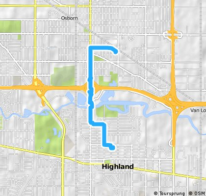 Short bike tour from Hammond to Highland
