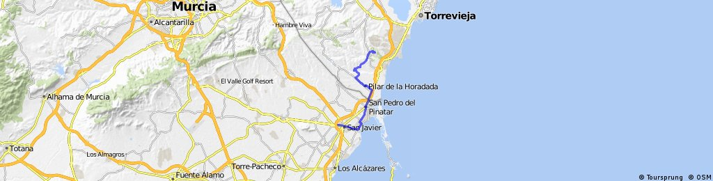 San Javier To Home