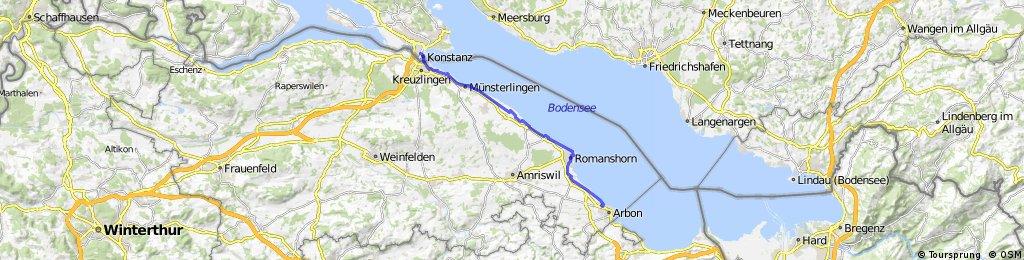 Arbon naar Konstanz
