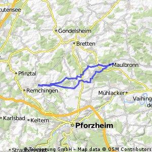 Königsbach - Maulbronn