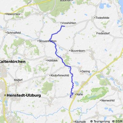 Storchnecafe Voßhöhlen 2. Abschnitt (15,0km)