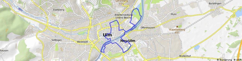 Stadtradroute Ulm