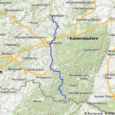 Tag 4 Wolfstein - Schönau
