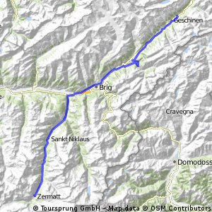 Baden-Zermatt, 3. Tag