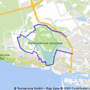 bike tour through Санкт-Петербург