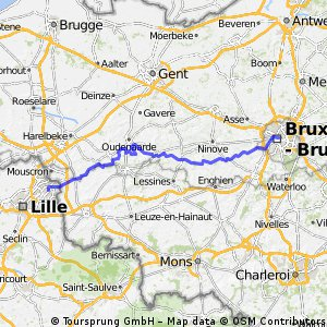 PART 7 - Roubaix to Bruxelles - North Sea Loop